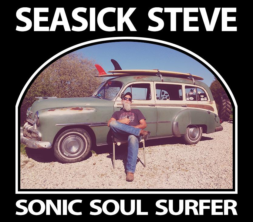 Seasick Steve Sonic Soul Surfer packshot