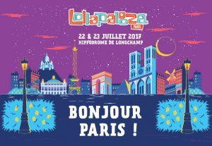 LOLLAPALOOZA - BONJOUR PARIS